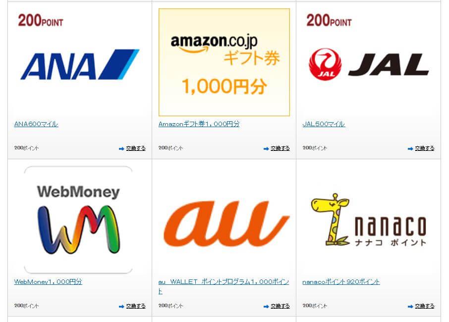 クレジットカードのポイント交換先は「高還元率・流動性が高いもの」が絶対オススメ!景品交換は損…!?