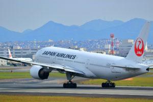 6,000マイルで、東京~沖縄間の往復をJALの飛行機で行ける