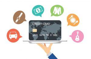 学生の頃はふだんの支払いでもクレジットカードを使ってポイント集めをして節約