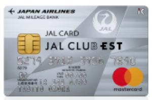 JAL普通カード(CLUB EST)
