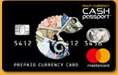 海外専用プリペイドカード「キャッシュパスポート」