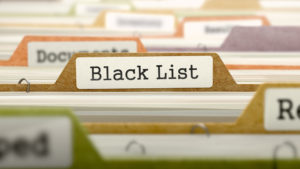 事故情報(ブラックリスト)や異動情報について