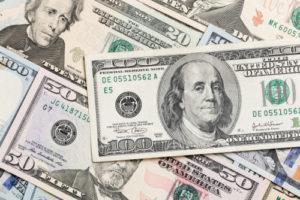 米ドルの図