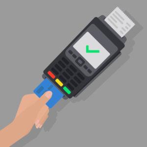 海外で多く見られるクレジットカード読み取り機